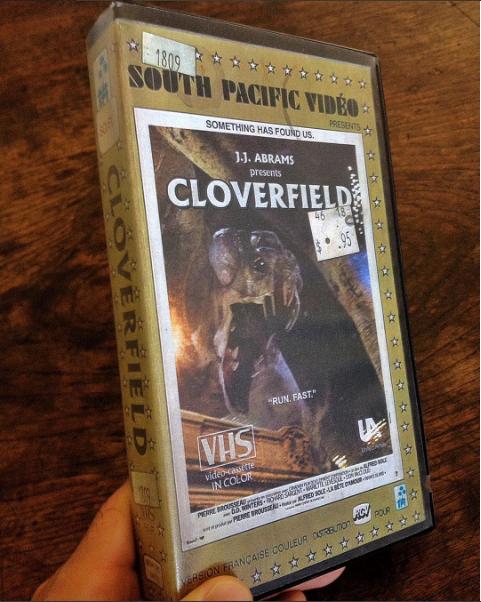 nostalgic-vhs-art cloverfield