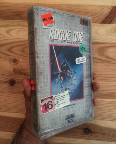 nostalgic-vhs-art rogue-one