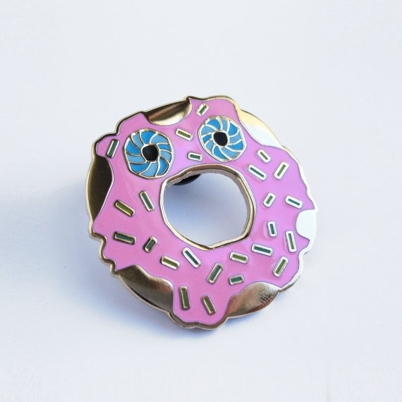 novelty-lapel-pins donut