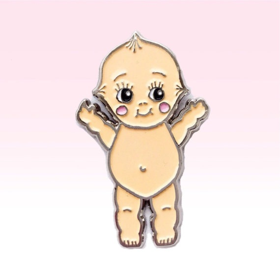 novelty-lapel-pins kewpie