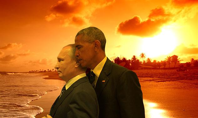 obama-putin-photoshop-battle obama-putin-beach