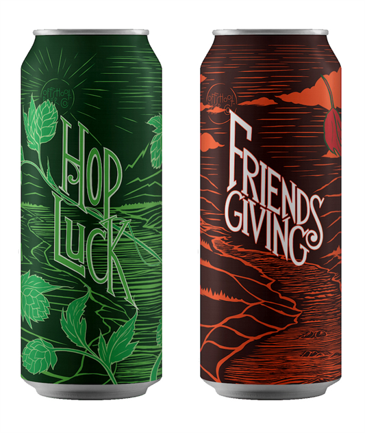 offshoot-cans hop-luck-friends-giving