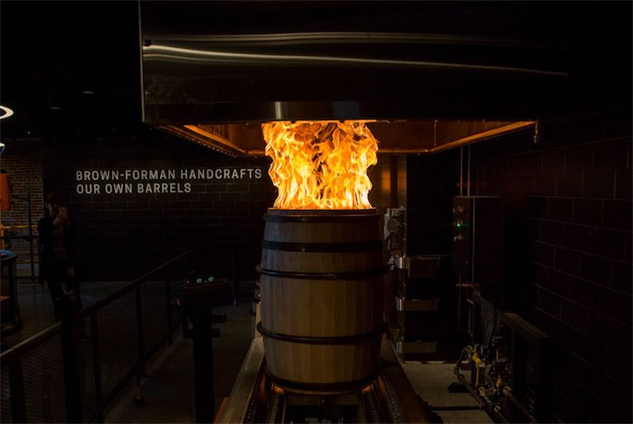 old-forester-distillery barrel-firing-2-kertis-creative
