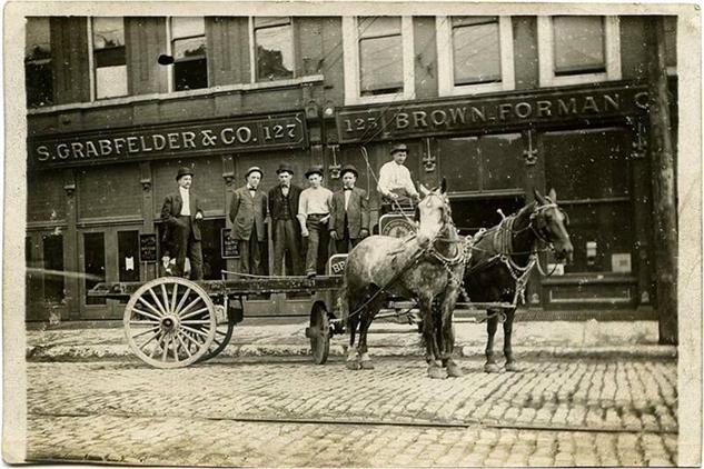 old-forester-distillery historical-shot