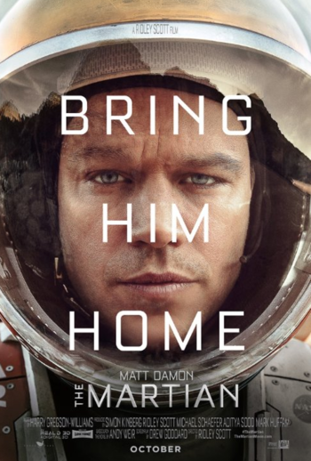 oscar-noms-based-on-books 1martianposter