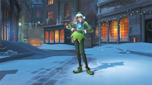 Overwatch Christmas 2019 Skins.The Character Skins Of Overwatch S Winter Wonderland Event