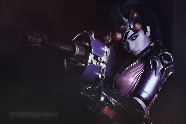overwatch-cosplay azure-as-widowmaker