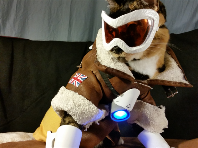 overwatch-cosplay catcosplay-as-tracercat