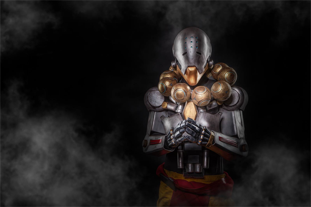 overwatch-cosplay shellshocked-as-zenyatta