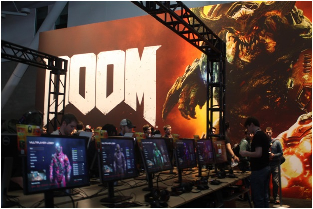 pax-east-2016-booths pax-east-2016-doom-1
