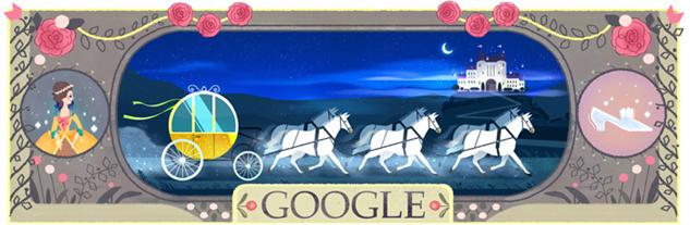 perrault-google-doodles 1cinderelladoodle