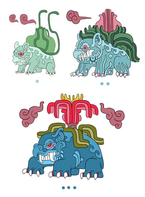 pokemayan bulbasaur-evolution