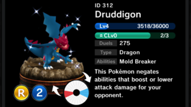 pokemon-duel druddigon