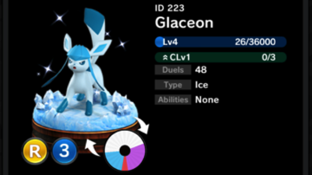 pokemon-duel glaceon