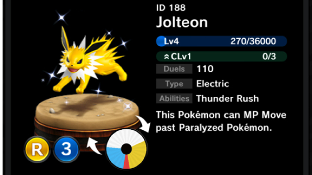 pokemon-duel jolteon