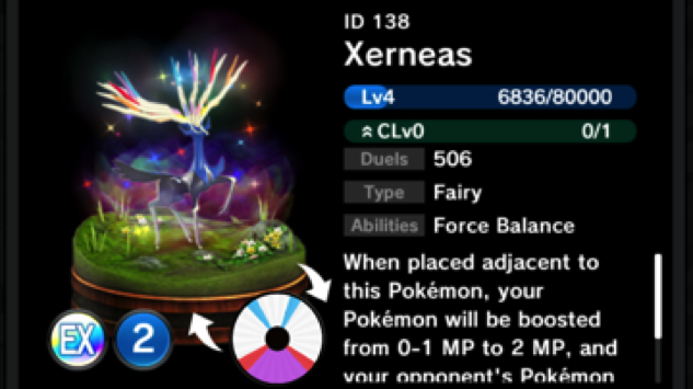 pokemon-duel xerneas
