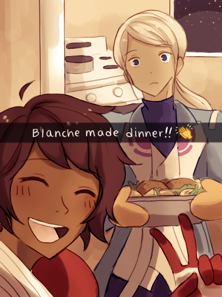 pokemon-go-fanart blanche-dinner-snap-naibi