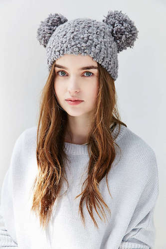 12 Pom-Pom Beanies to Top Your Look Off    Style    Galleries    Paste ef78aa6f232