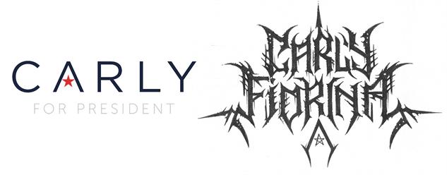 presidential-candidate-black-metal-logos carly-fiorina-black-metal