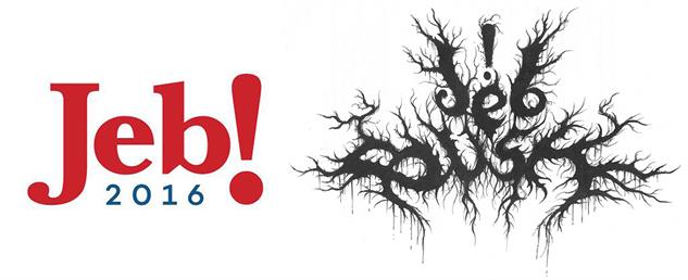 presidential-candidate-black-metal-logos jeb-black-metal