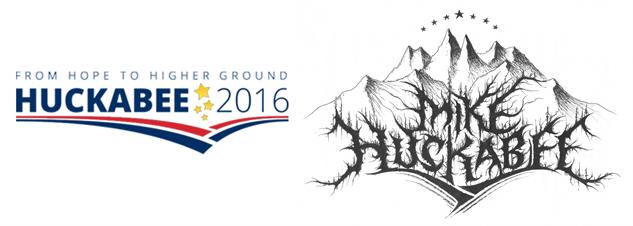 presidential-candidate-black-metal-logos mike-huckabee-black-metal
