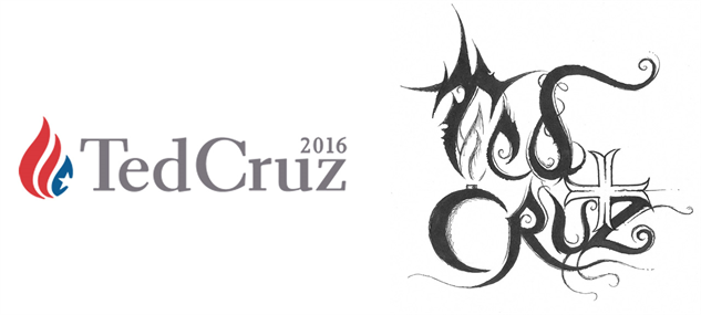 presidential-candidate-black-metal-logos ted-cruz-black-metal