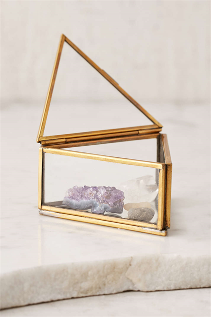 Pretty Glass Boxes For Terarriums Storage And More