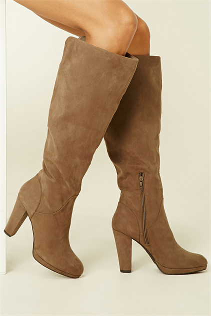 pretty-knee-high-boots faux