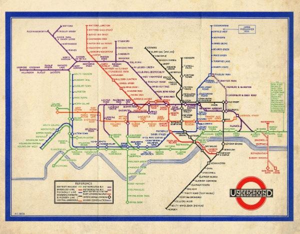 public-transport-home-decor map