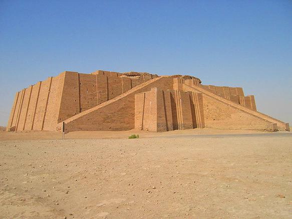 pyramids ziggurat-ur-iraq