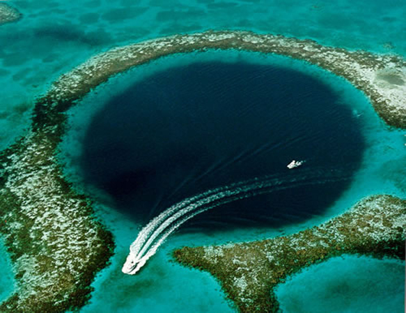 reefs belize-great-blue-hole