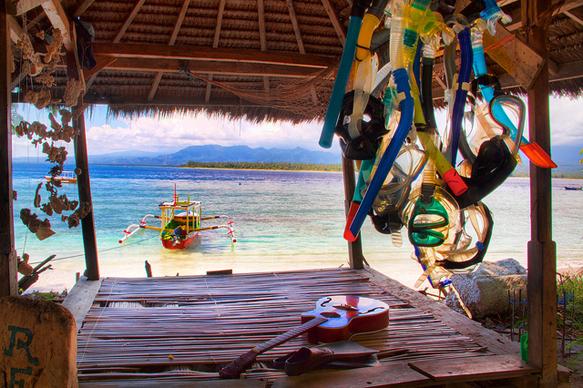 reefs gili-islands-indonesia-snorkel