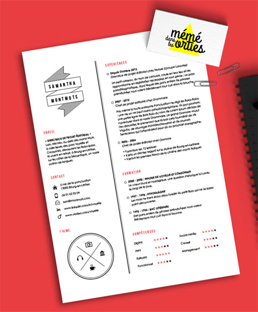 8 creative and appropriate resume templates for the non