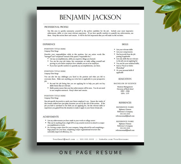 8 Creative And Appropriate Resume Templates For The Non: 8 Creative And Appropriate Resume Templates For The Non