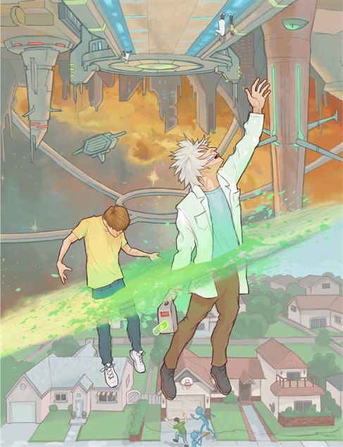 rick-morty chris-mcguire-sometimes-science-is-more-art-than-science