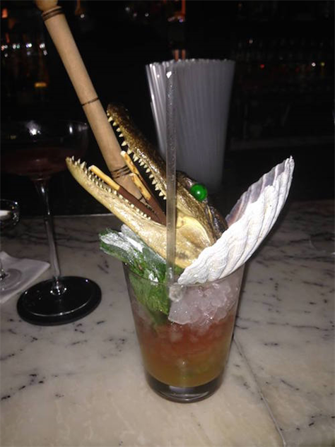 10 Ridiculous Cocktail Garnishes :: Drink :: Galleries ...