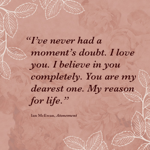 Gentil ... Romantic Lit Quotes 6 Ianmcewan ...