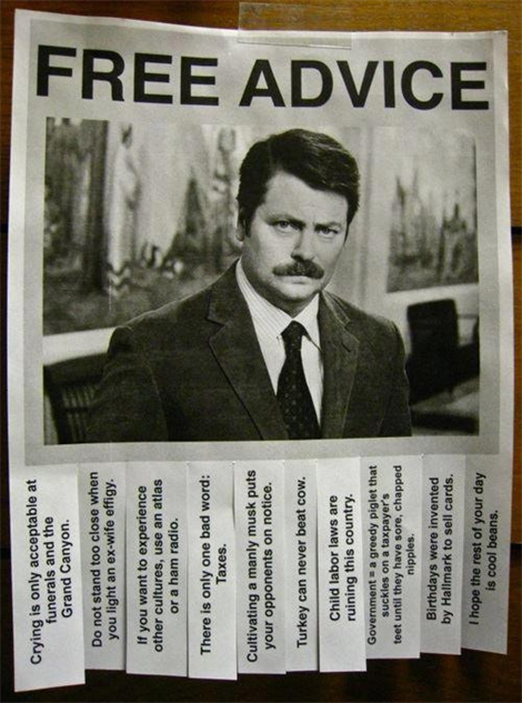 25 Perfect Ron Swanson Memes and Quotables TV Galleries