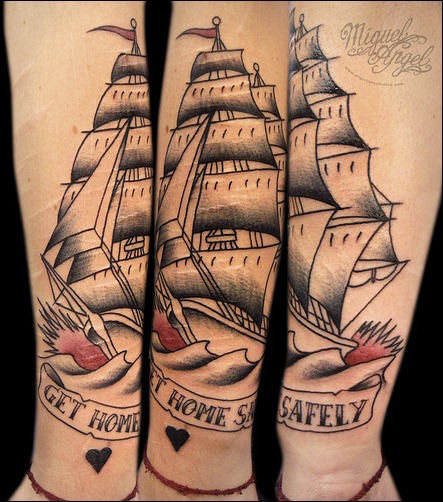Sailor jerry rum wants to give you a free tattoo drink for Sailer jerry tattoo