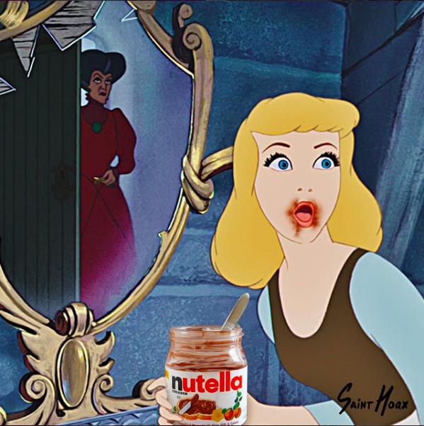 Disney Princess Food Mashups by Saint Hoax :: Food