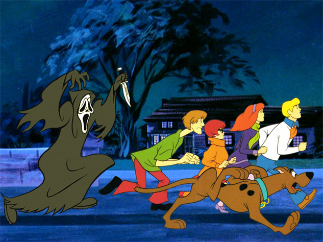 see these classic slasher villains reimagined as scooby