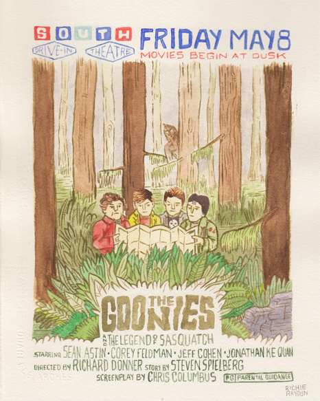 sequels the-goonies--the-legend-of-sasquatch-by-rich-rayburn