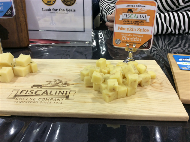 sf-fancy-food-show 14-pumpkin-spice-cheddar