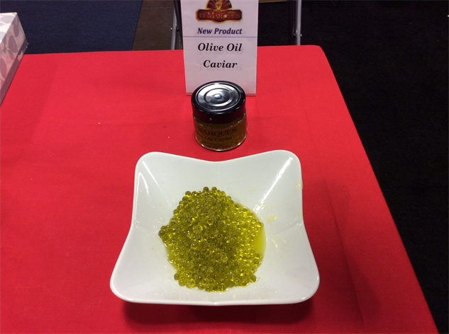 sf-fancy-food-show 25-olive-oil-caviar-in-dish