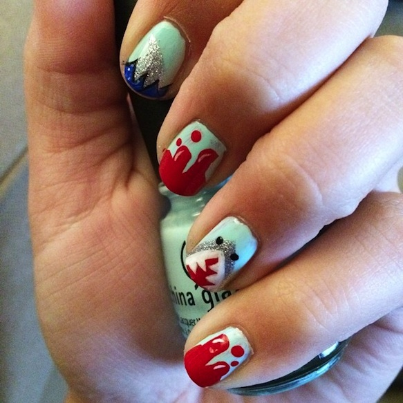 shark-nails sharknailart-loranussssss7