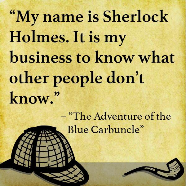 sherlock holmes blackwood quotes
