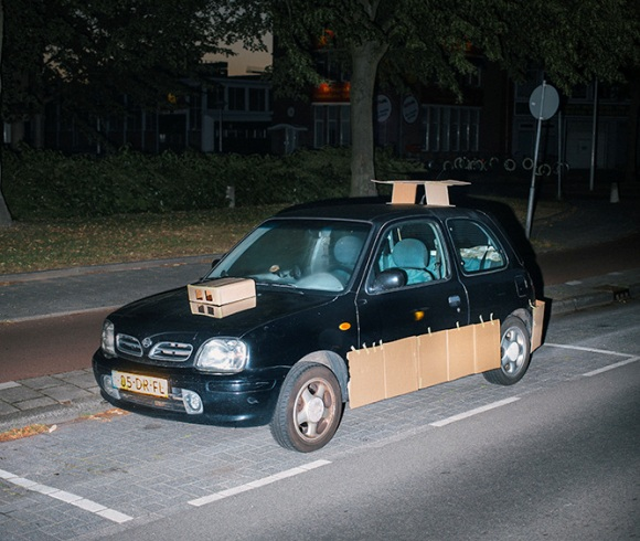 Artist Upgrades Cars With Cardboard :: Comedy :: Galleries