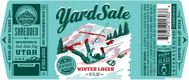 ski-beer yard-sale