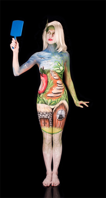 Body Paint and Fairy Tales Collide in Beautiful Skin Wars ...
