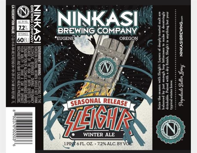 sledding-beer ninkasi-sleighr
